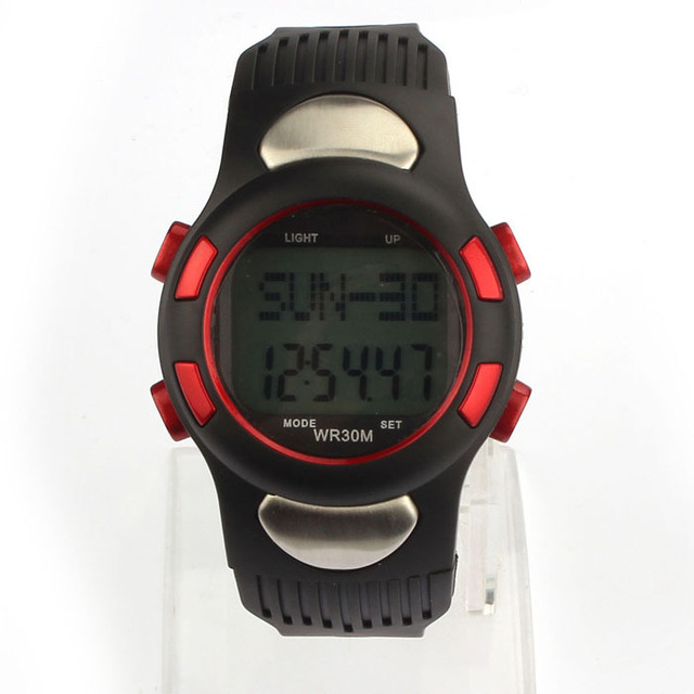 4 Colors Free Shipping Women Men Fitness Stainless Steel 3D Pedometer Calories P