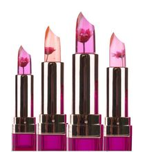Black Chrysanthemum Lipstick Flower Jelly Temperature-changed Lip Balm Wednesday Moisturizer Lips 3.5g