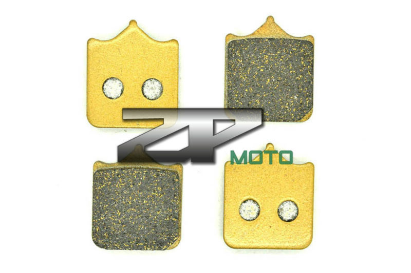 NAO Brake Pads For KTM 990 Superduke 2005-2011 690 Duke (4 Separate Pad Type Caliper) 2008-2011 Front OEM New High Quality for ktm 990 superduke