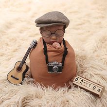 Newborn Photography Prop Creation Gentlemen Camera Infant DIY Props Studio Accessories