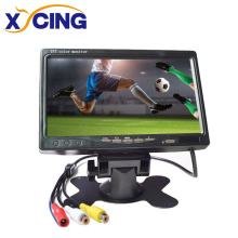 XYCING 7 inch TFT LCD Color 800*480 Car Monitor for Surveillance Camera Car Rear View Camera -  2 AV Input Car Rear View Monitor 7 inch tft lcd car monitor lcd multimedia player rearview mirror monitor cmm 005 e350 car rear view reversing camera