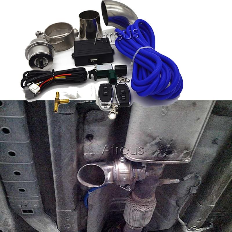 Exhaust Control Valve Set With Vacuum Actuator For BMW G30 F30 F10 E46 E90 E60 E39