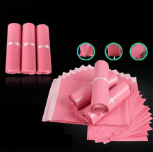 100% new material plastic shipping bag polybags for mailing Pink Poly Mailer Plastic Shipping Mailing Bags Envelope Polybag