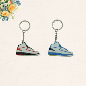 new style 95c40 b196a Qchian Keychain Key Ring Porte Clef for Woman Gifts