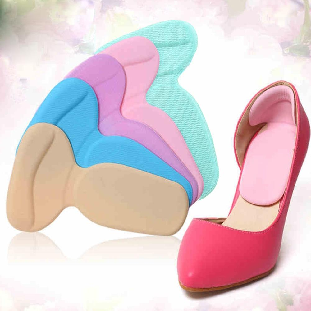 T-Shape Thread Thicker Rear Foot Wear Stickers High Heels Soft Mat Height Increase Insole Anti Pain Shoe Insoles Cushions New