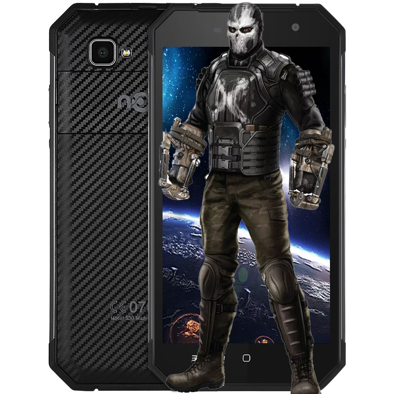 Original Nomu S30 Android 6.0 Smartphone 5.5 Inch 4G Phablet MTK6755 2.0GHz Octa Core Mobile Phone 4GB+64GB 13.0MP Cameras Phone