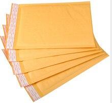 Enveloppe en mousse Kraft jaune, 10 pièces de rechange pour le bureau, livraison gratuite