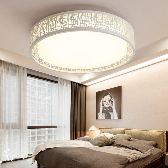 Moderne minimalistische LED plafond lampen warm slaapkamer lamp ...