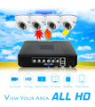CCTV Camera DVR System AHD 720P Kit Optional 2/3/4 Channel CCTV DVR HVR NVR 3 in 1 Video Recorder Infrared Dome Camera Security