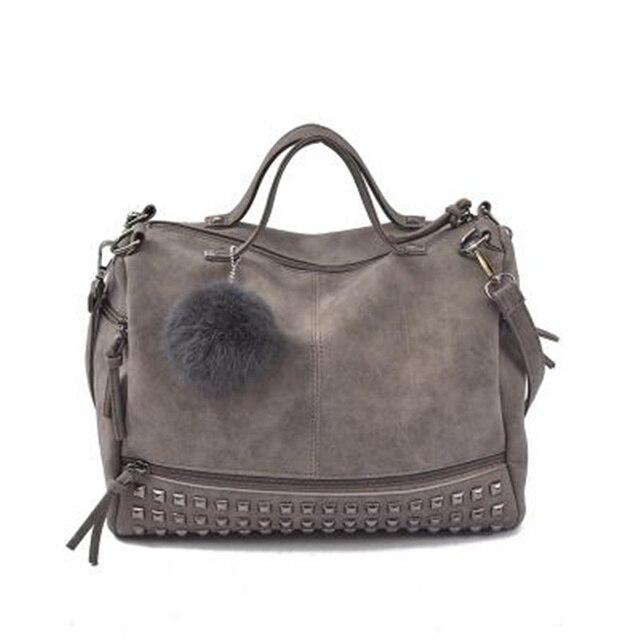 Bolish Nubuck Leather Handbag 1