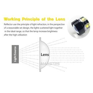 Image 4 - 2x H7 H8 H11 9005 9006 HB4 H16 30 W/50 W/80 W קרי שבבי LED רכב ערפל אור ערפל מנורת LED פנס בשעות היום Runing אור DRL 12 V