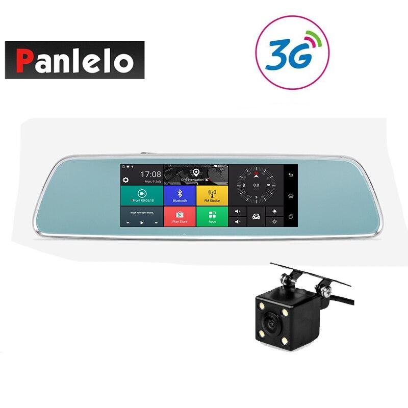 Panlelo V101 Voiture navigation gps Dash rétroviseur caméra Cam 3G/4G Internet Wi-Fi 1 GB RAM 16 GB ROM android 5.1 APP Contrôle