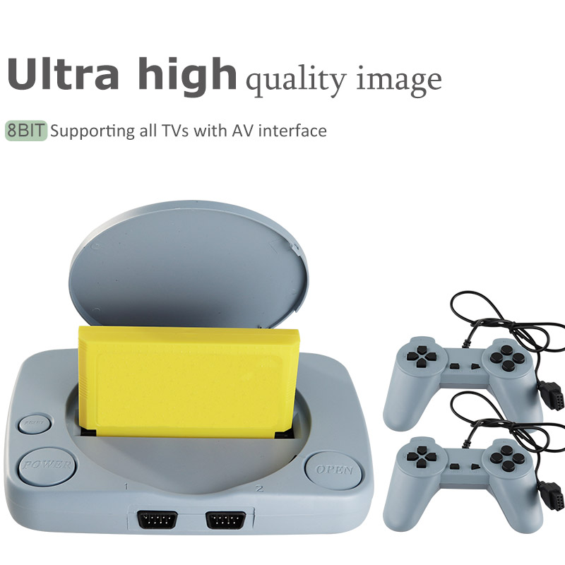 AV Out Put Family TV Video Game With Dual Controller 8 Bit Classic Video Game Console 400 Games Support Game Consoles