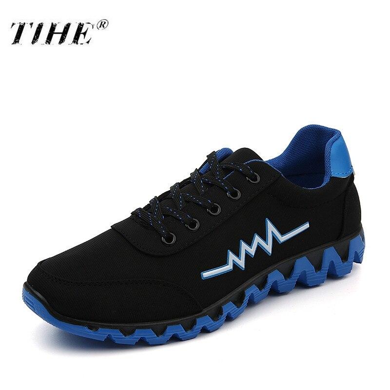 2018 Men's Vulcanized Shoes New Youth Men Canvas Low Shoes Non-slip Breathable Lace-up Rubber Shoes Casual Calzado De Hombre Verpackung Der Nominierten Marke