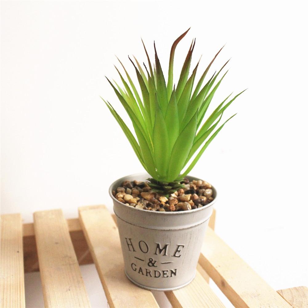 Piante Grasse Da Giardino 4 piante grasse artificiali verde artificiale falso micro