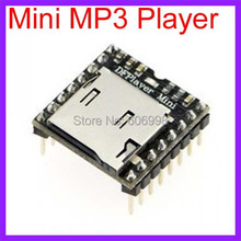 5pcs/lot Mini MP3 Player Module For Arduino Open Source