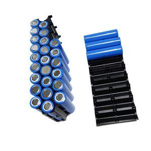 Image 3 - OOTDTY soporte de espaciador de batería de plástico 18650, 10 Uds., 2x1 0P/2x13P, soporte de celda cilíndrica para accesorios de almacenamiento de batería