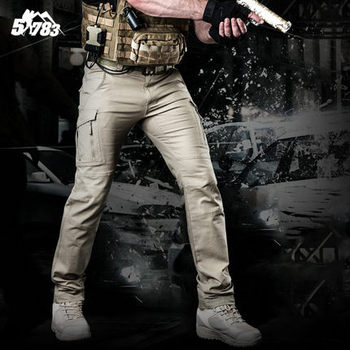 2018 NEWmens tactical military War Game Cargo cotton pants  silm Pants mens trousers Micro elastic force Army  hunting  Active