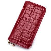Luxury Genuine Leatehr WOMen Wallet Clutch Bags Purse Wallets Famous Brand Handy Bag WOMens Wallet Leather