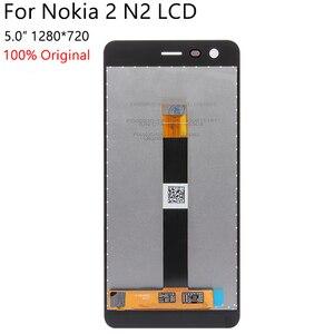 Image 2 - 100% 오리지널 노키아 2 N2 TA 1007 TA 1029 TA 1023 TA 1035 TA 1011 LCD 디스플레이 터치 스크린 디지타이저 어셈블리 교체