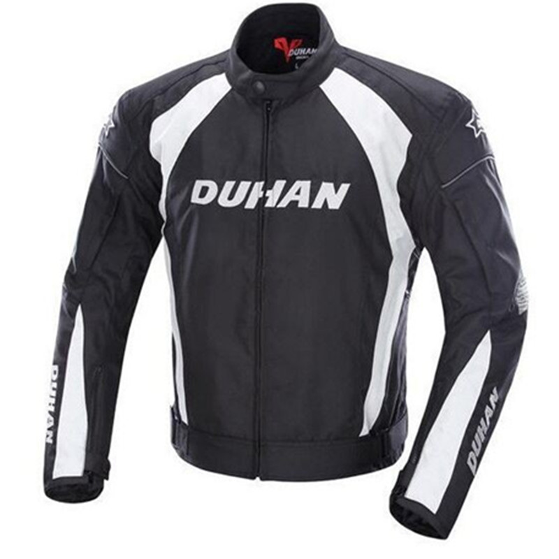 Fashion DUHAN 3 color motorcycle jacket moto riding motorcross protection motorbike jacket Free shipping M L XL XXL 2013 new style red mens motorcycle jacket motorbike riding jacket suit with size s to xxxl free shipping