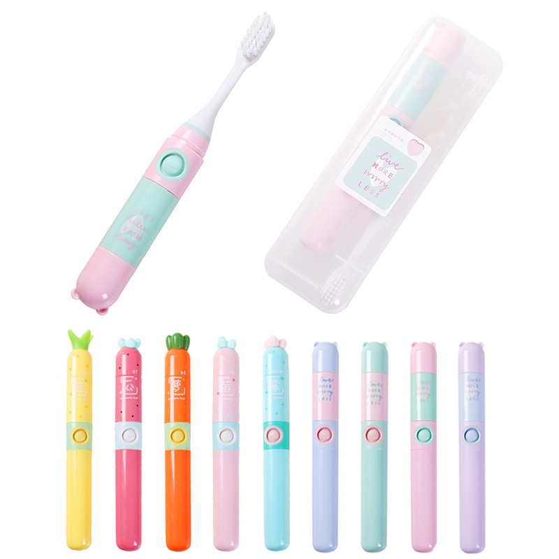 Children Electric Toothbrushes Cartoon Pattern Tooth Brush Electric Teeth Brush For Kids2