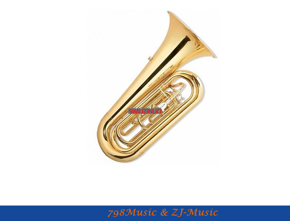 Marching Tuba Entry Model With Case-Bore Size:16.8mm-Bell DIA.370MM