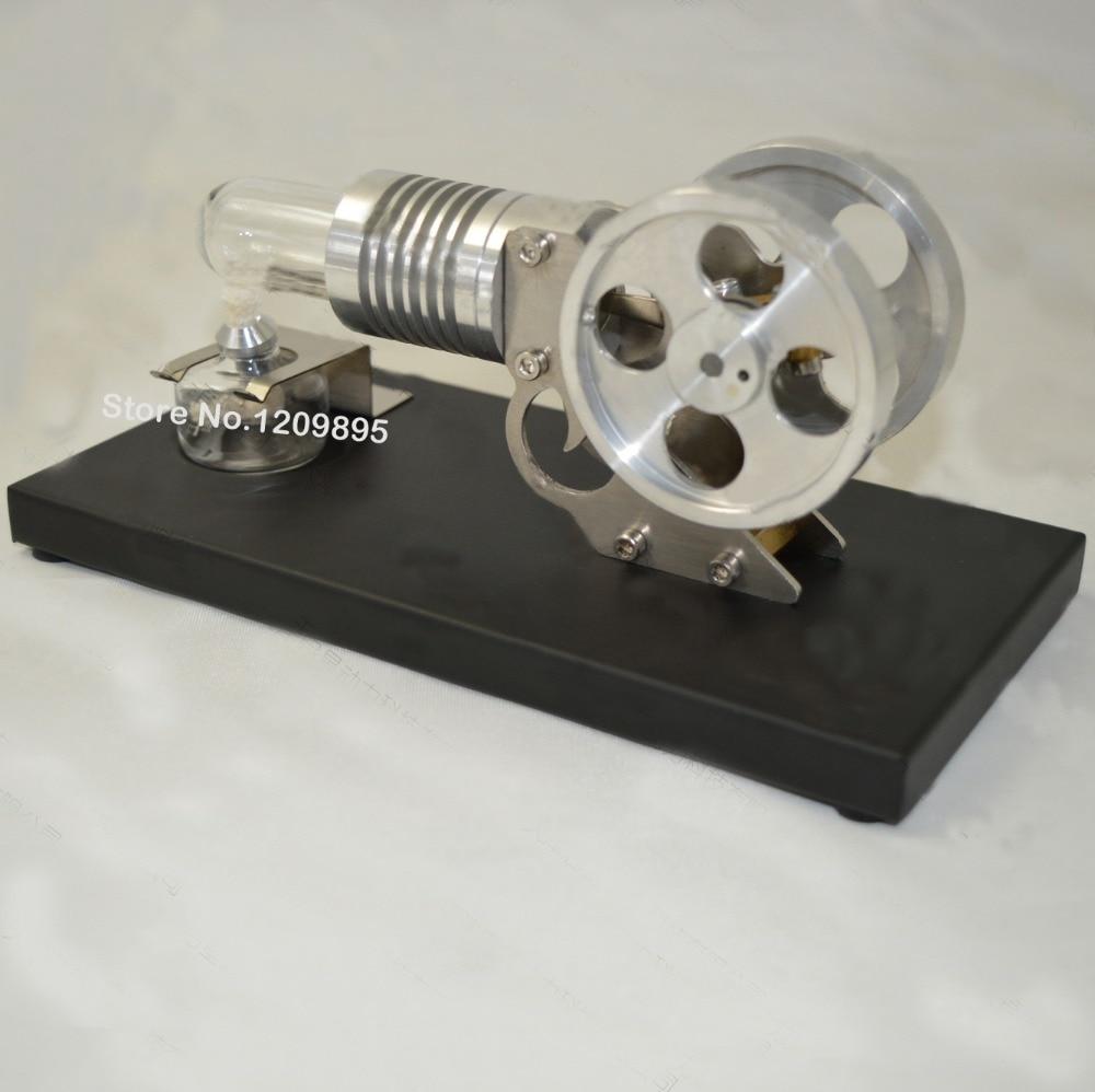 Spalovací pohon Stirling Engine Manson bez - Školní a vzdělávací materiály - Fotografie 2