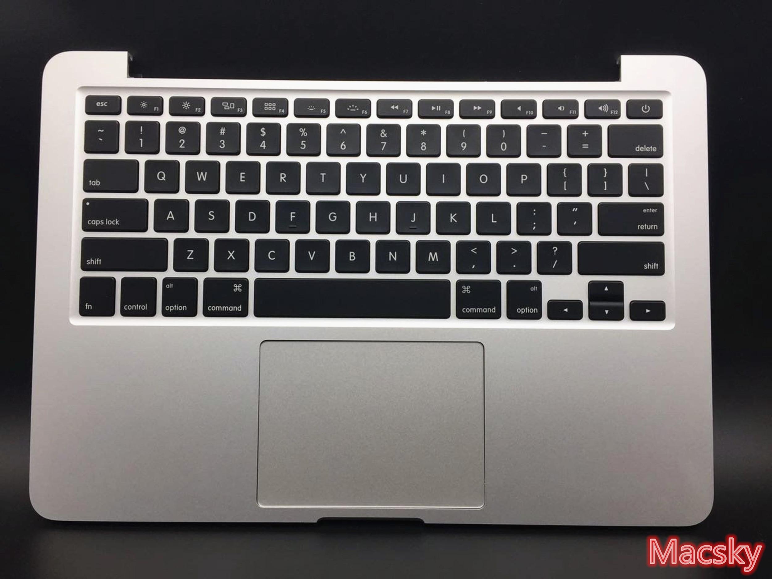Чехол New Top Для Macbook Pro retina 13,3 ''2015 A1502 Подставка для рук с нами клавиатура Подсветка трекпад тачпад Батарея 2015