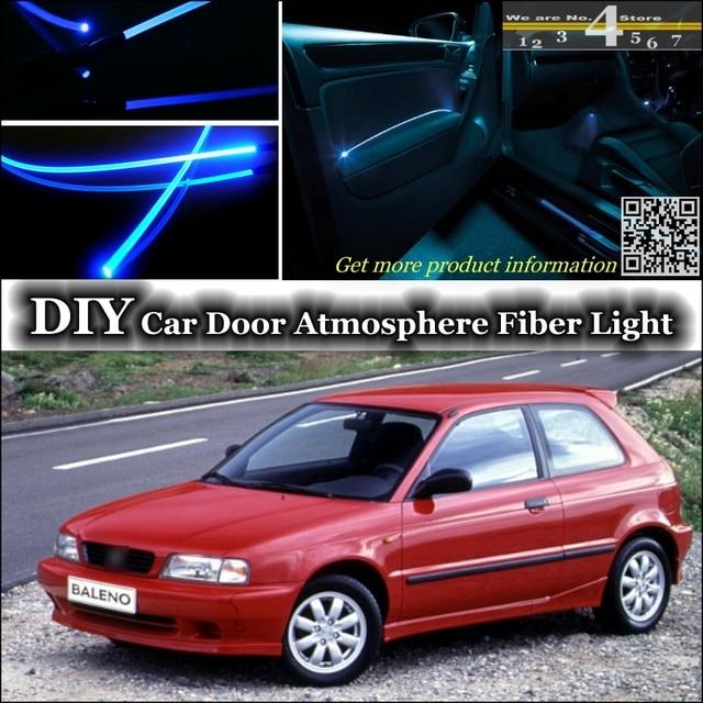 Interior Ambient Light Tuning Atmosphere Fiber Optic Band Lights For Suzuki Cultus Crescent Baleno