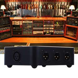 1 в 6 из XLR горизонтальные параллельные дистрибьютор аудио сплиттер/коммутатор распределитель