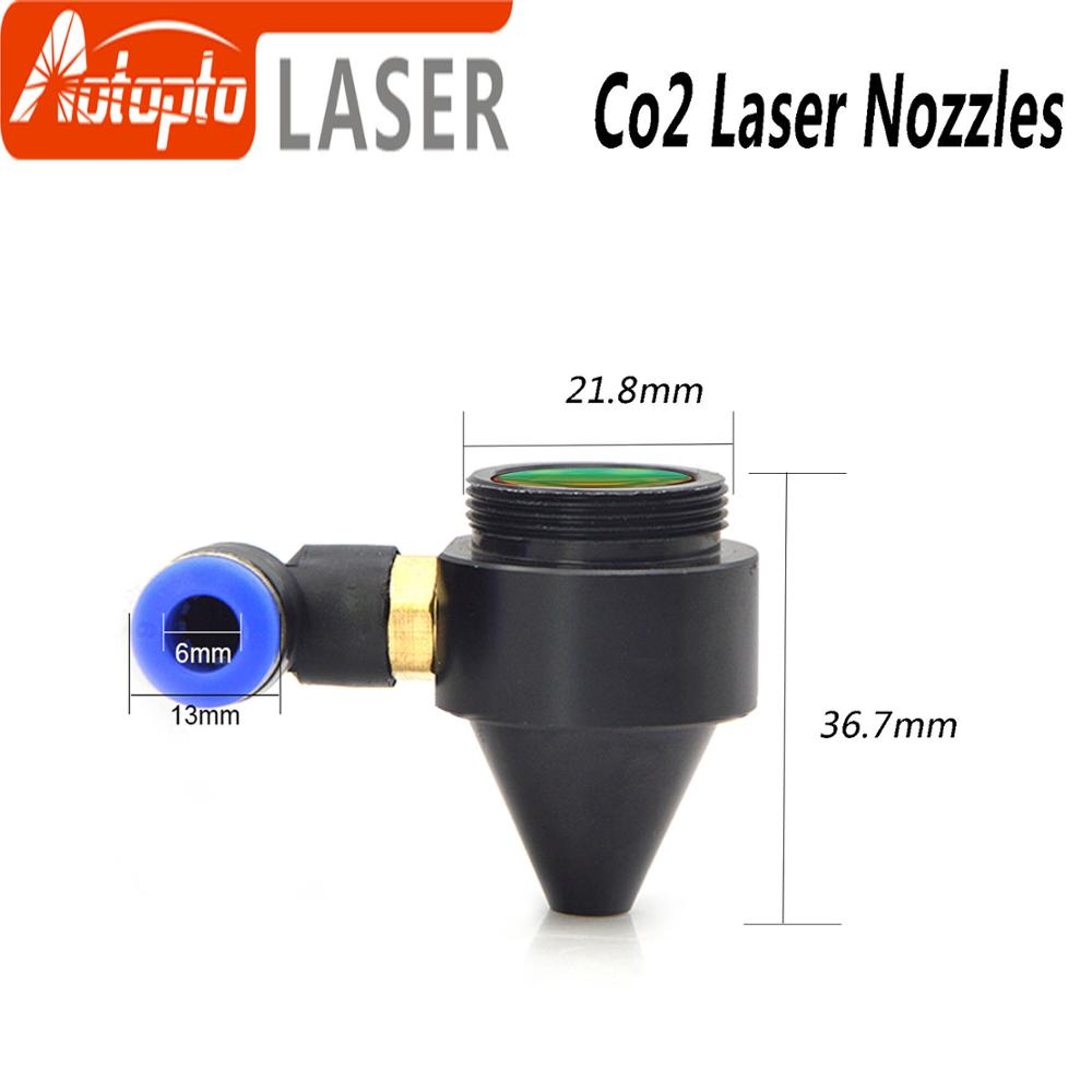 Air Nozzle Diameter 18mm FL38.1mm For Laser Head At CO2 Laser Cutting Machine