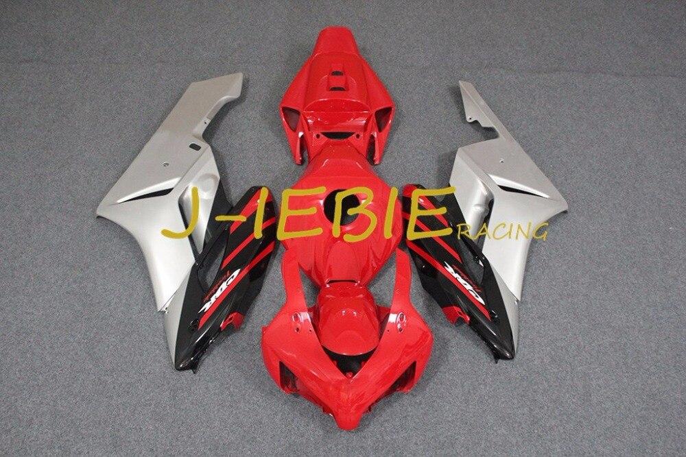 Red silver Injection Fairing Body Work Frame Kit for HONDA CBR1000RR CBR 1000 CBR1000 RR 2004 2005