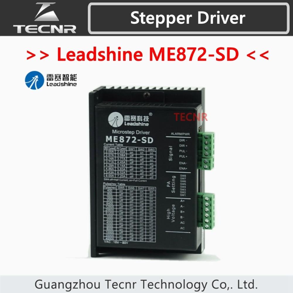 Leadshine ME872-SD Driver DC 18-80V For 2 Phase Nema34 Stepper Motor leadshine me872 sd driver dc 18 80v for 2 phase nema34 stepper motor