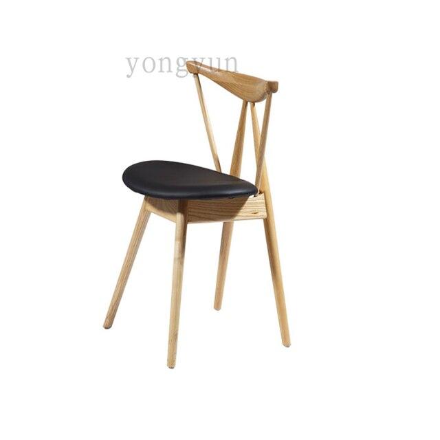 Sedie In Legno Per Alberghi.Moderno E Minimalista Camera Lato Mobili Sedia Di Legno Famoso