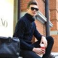 Кашемир Свитер Мужчин 2016 Бренд Одежды Мужские Свитера Мода Повседневная Рубашка Шерсть Пуловер Мужчины Тянуть Свитер Свободный Корабль