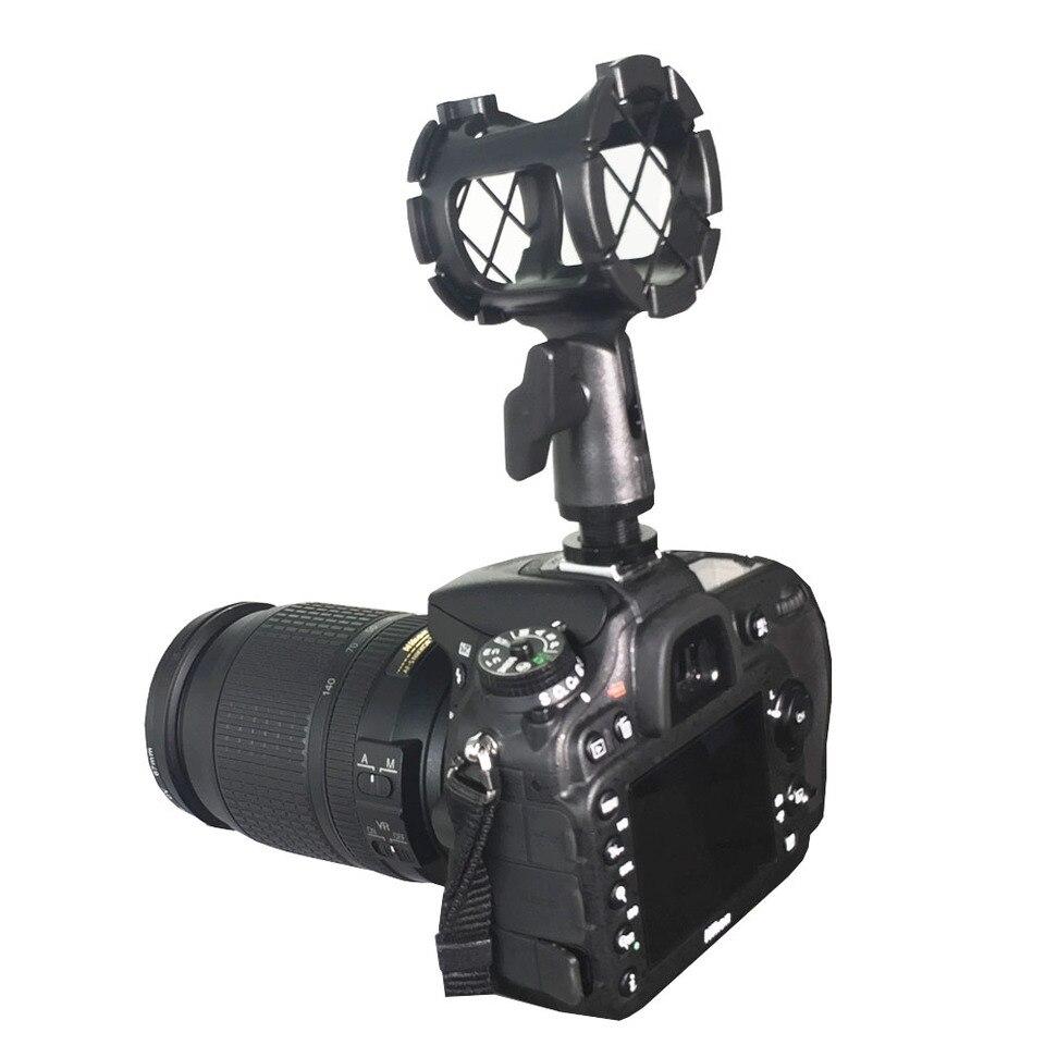 Mikrofonhalter Clip Adapter Für 26 30mm Kameras Camcorder Handheld Micr
