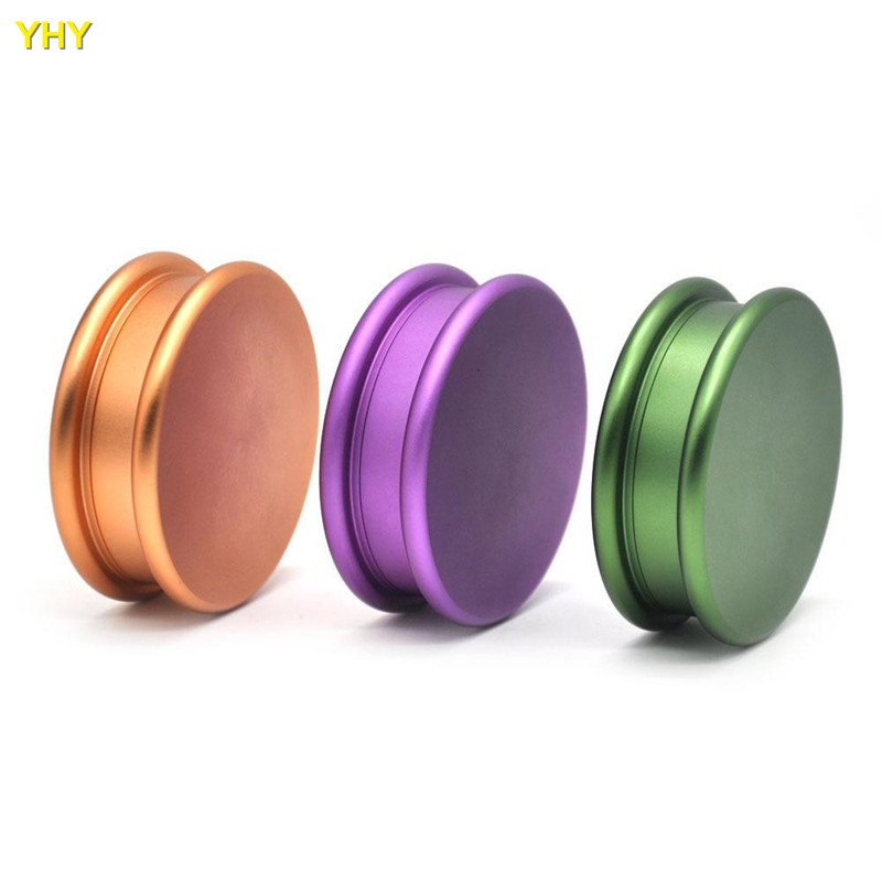 Dia 53mm 2 Layers Alloy Tobacco Grinder Weed Herb Grinder Tobacco Spice Crusher Hand Muller Moledor Grinder For Weed Cigarette Accessories Aliexpress
