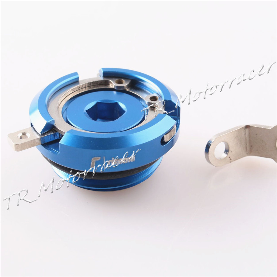 Blue Motorcycle Accessories Universal For Yamaha27*3 Engine Oil Filler Cap Cover Screw YZF R1 R6 TMAX 530 Raider FZ6 for yamaha yzfr25 r3 yzfr3 yzf r3 yzf r25 2014 2015 motorcycle accessories aluminum oil filler cover screw plug cap bolt blue