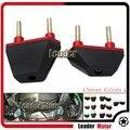 Venda quente acessórios da motocicleta quadro sliders bater protector apto para kawasaki z750 2004-2014 z800 z1000 2013-2016 2007-2009 vermelho