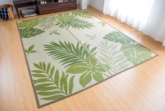 Grote Vloer Tapijt Kleed Rechthoek 176x230 cm Rush Tatami Mat Zomer ...