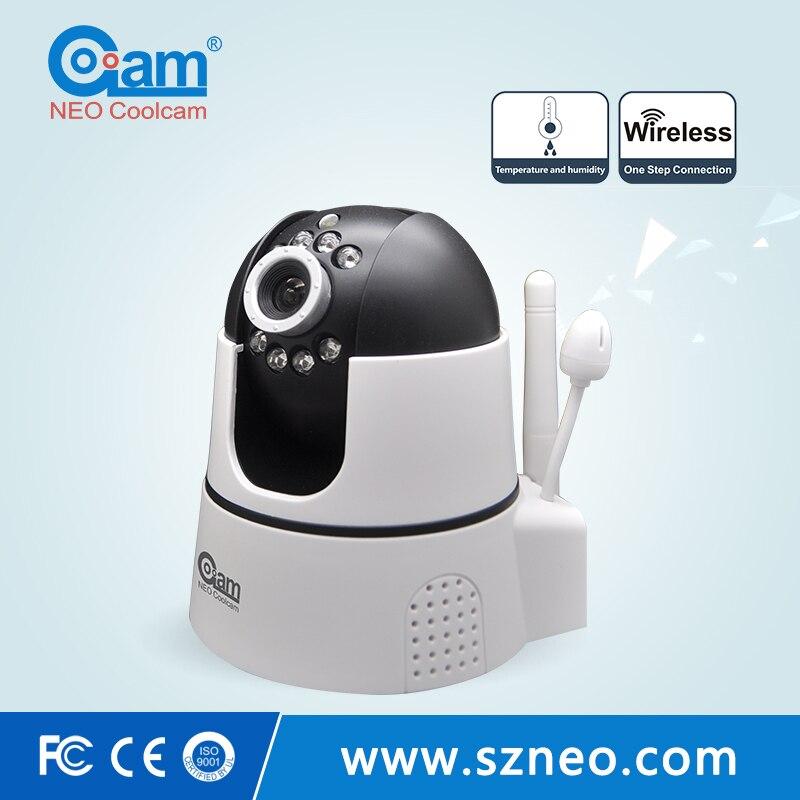 NEO Coolcam NIP-22FX-01 la température @ humidité 720 P wifi caméra ip, P2P sans fil CCTV HD caméra IP et moniteur bébé, application gratuite.