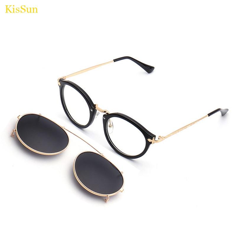 2017 Baru Kedatangan Vintage Steampunk Kacamata Cermin Kacamata Hitam - Aksesori pakaian - Foto 2