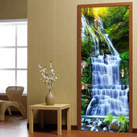 3D Stereo Waterfalls fondos De pantalla Mural sala De estar estudio clásico Pared De fotos Mural adhesivo De puerta decoración del hogar Papel De pared