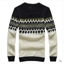 2014 Man Autumn O-Neck Pullovers Sweater Men Thick Casual Winter Bottoming Sweater Brand Men'S Clothing Jerseys Hombre S912