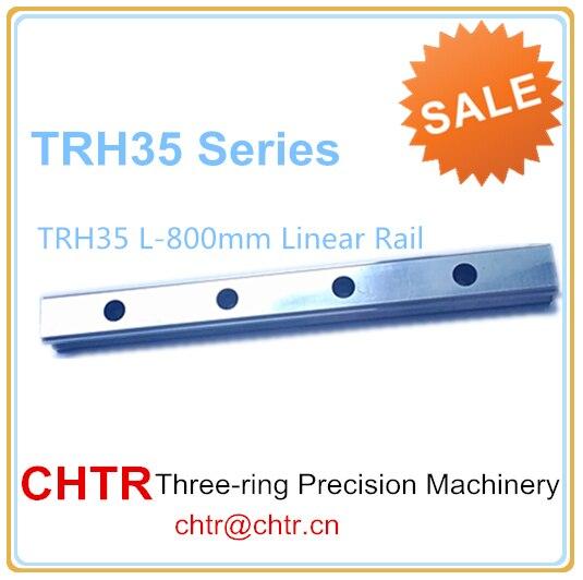 Manufactory Low price for 1pc TRH35 Length 800mm Linear Slide Rail CNC Linear Guide Rail 34mm
