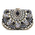 Luxury Handbags Women Bags Designer Women's Beaded Handbag Bridal Duplex Diamond Clutch Chain Evening Bag Shoulder Messenger Bag