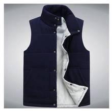 Colete Masculino 2014 Newest men winter warm famous brand cotton padded vest mans sleeveless jacket outwear waistcoat S831