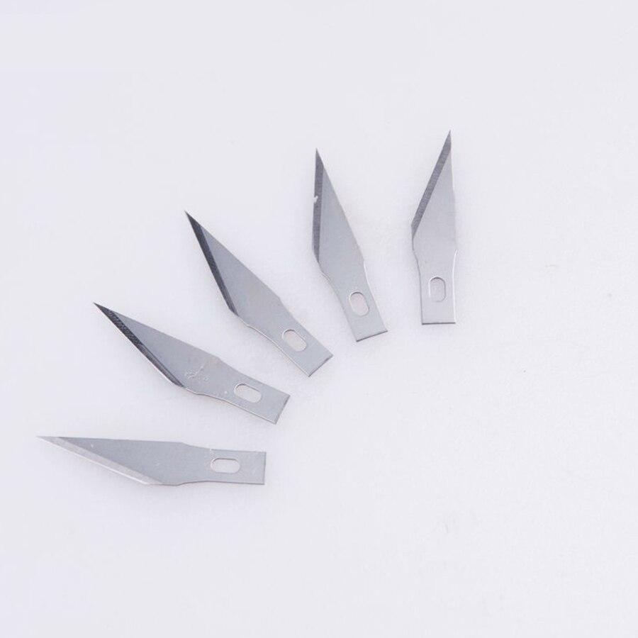 Libisemiskindla metalli skalpellnoa tööriistakomplekt - Käsitööriistad - Foto 3