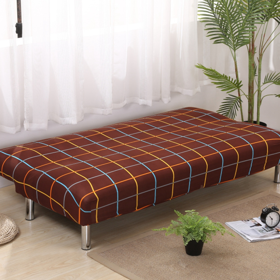 Aliexpress.com : Buy Brown Covering For Sofa Bed Universal Stretch Armless  Couch Sofa Slipcovers Removable Machine Washable Covers Home Decoration  From ...